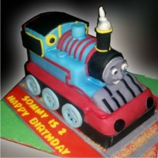 Thomas The Tank Cartoon Character Cake